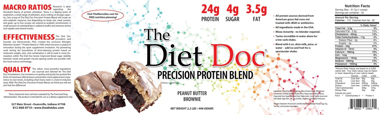 what does diet doc say about peanut butter